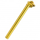 25.4 x 300mm Aluminum Alloy Seat Post Tube for Fixed Gear - Golden