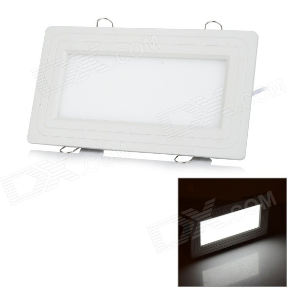 ZD-TD59 12W 659lm 6500K 120-SMD 3014 LED White Light Ceiling Lamp