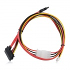 X300 / X505 SATA Data / Power Cable for Raspberry Pi Expansion Board - Black + Red + Yellow (60cm)