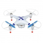 ChengXing CX-30W 2.4GHz 4-CH Cellphone-Controlled R/C Quadcopter w/ HD Camera / Wi-Fi - Blue + White
