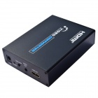 SCART to HDMI Scaler Box / Video Converter w/ US Plugs - Black