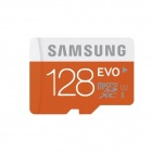 Samsung 128GB EVO Micro SDXC / TF Memory Card - Orange (UHS-I)
