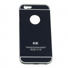 Protective Aluminum Alloy Back Case Cover for IPHONE 6 - Black
