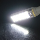 KINFIRE E27 7W 550lm 6500K 44-SMD 5050 LED White Horizontal Plug Light Lamp (AC85~265V)