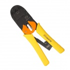 BESTIR  BST-01116 Modular Plug Crimping Pliers for 4P4C/6P6C/8P8C Network Cable - Black + Yellow
