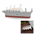 Creative Mini Aircraft Carrier Style USB 2.0 Flash Drive - White + Grey (16GB)