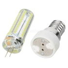 JRLED G4 7W LED Bluish White Light Bulb - White (AC 200~240V)