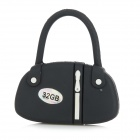 Buy Mini Handbag Style USB 2.0 Flash Drive - Black + White (32GB)