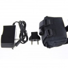 8.4v 8000mAh Rechargeable 4 x 26650 Battery Pack with Charger - Black
