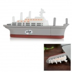 Creative Mini Aircraft Carrier Style USB 2.0 Flash Drive - White + Grey (64GB)