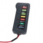 12V Digital Car Battery Alternator Tester Diagnostic Tool - Black