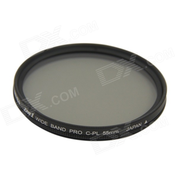 NISI 55mm PRO CPL Ultra Thin Circular Polarizer Lens Filter - Grey
