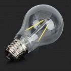E27 2W 180lm 6000K White Light LED Filament Bulb(AC 220V)