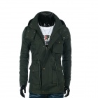 YT-7611 Men's British Style Casual Jacket - Army Green (XL)