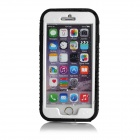 IPX7 Waterproof Protective Plastic Case Cover for IPHONE 6 - Black + Translucent White