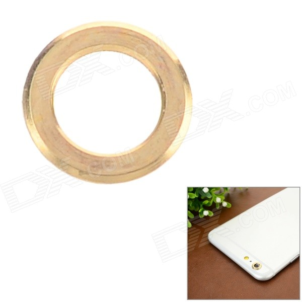 "Aluminum Alloy Lens Guard Ring Sticker for IPHONE 6 PLUS 5.5"" - Golden"
