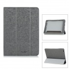 "Protective PU Leather Flip Open Case w/ Stand for 9.7"" CUBE T9 - Black + Dark Grey"