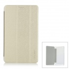 "Protective PU Leather Flip Open Case w/ Auto Sleep / Stand for 7.0"" CUBE T7 - Golden"
