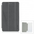 "Protective PU Leather Flip Open Case w/ Auto Sleep / Stand for 7.0"" CUBE T7 - Black"