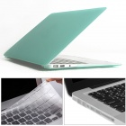 "Mr.northjoe 3-in-1 Matte Hard Case + Keyboard Cover + Anti-dust Plugs for MACBOOK AIR 13.3"" - Green"