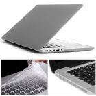 "Mr.northjoe PC Matte Case + Keyboard Cover + Anti-dust Plugs for RETINA MACBOOK PRO 13.3"" - Grey"