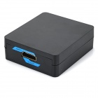 1080P HDMI to AV Converter w/ Mini USB / RCA - Black