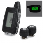 Digital Tire Pressure / Temperature Monitor - Black + Grey