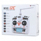 Walkera DEVO10 2,4 GHz 10-Channel R / C transmisor Modo 1 - blanco