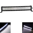 GULEEK 120W 6000K 8400lm Type/G Flood White 40-LED Work Light Bar for Car / Boat