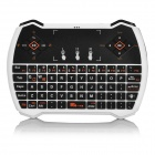 Multi-Function 2.4GHz Wireless Keyboard w/ Touchpad / Multimedia Key - White + Black