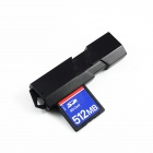 USB 3.0 2-in-1 Micro SD / SD Card Reader - Black (Max. 64GB)