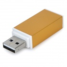 USB 2.0 Multi-functional SD / TF / MS / M2 Card Reader - Golden