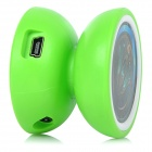Yo-Yo Shaped MP3 Player w/ TF - Green + White