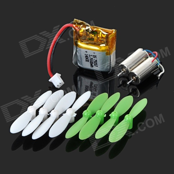 Replacement Blades + Motors Accesorios para CX-10 Quadcopter - Verde
