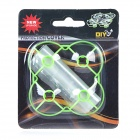 Protection Cover+Motors+Blades Accessories Set for CX10 - Green+White
