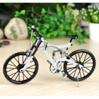 1:6 Scale Mini DIY Assembly Bike Bicycle Model Toy - White