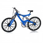 1:6 Scale Mini DIY Developmental Assembly Bike Bicycle Model Toy - Blue