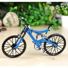 1:6 Scale Mini DIY Assembly Bike Bicycle Model Toy - Blue