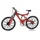 1:6 Scale Mini DIY Developmental Assembly Bike Bicycle Model Toy - Red