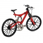 1:6 Scale Mini DIY Assembly Bike Bicycle Model Toy - Red