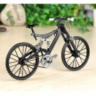 1:6 Scale Mini DIY Assembly Bike Bicycle Model Toy - Black
