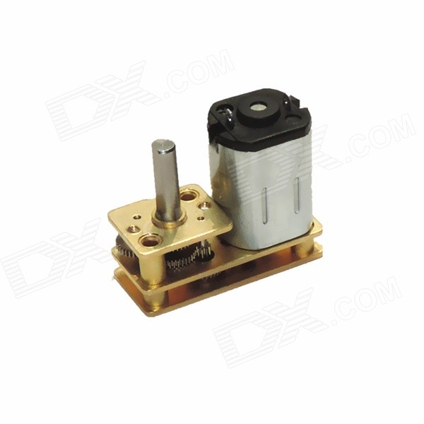 GA1024-N20 Mini DC 6.0V 30RPM Gear Motor - YellowDIY Parts &amp; Components<br>ModelGA1024-N20-05450-298-10DQuantity1 DX.PCM.Model.AttributeModel.UnitForm ColorYellowMaterialABS+ Cu + Fe + steelChipsetDC driveEnglish Manual / SpecNoCertificationNoPacking List1 x Gear motor<br>
