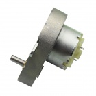 48GE-500 Pear Shaped High Torque DC 6.0V 22RPM Gear Motor - Silver
