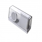 SDY-033 Portable Wireless Subwoofer Bluetooth V4.0 Speaker w/ FM / TF / 3.5mm - White