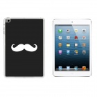 Ultra-thin Beard Pattern Protective Plastic Back Case for IPAD MINI 1 / 3 / RETINA IPAD MINI