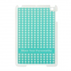 Ultra-thin Beard Pattern Plastic Back Case for IPAD MINI 1 / 2 / 3