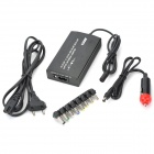 100W Universal Laptop AC Power Supply com Porto e Car Adapter 5V / 1A USB (110 ~ 240V)