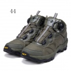 ESDY KF44-002 Men's Outdoor Hiking Climbing Anti-Slip Tactical Boots Shoes - Army Green (44)