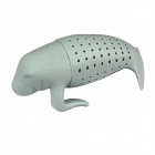 Ruhige Walrus Shaped Teesieb Filter - Grau