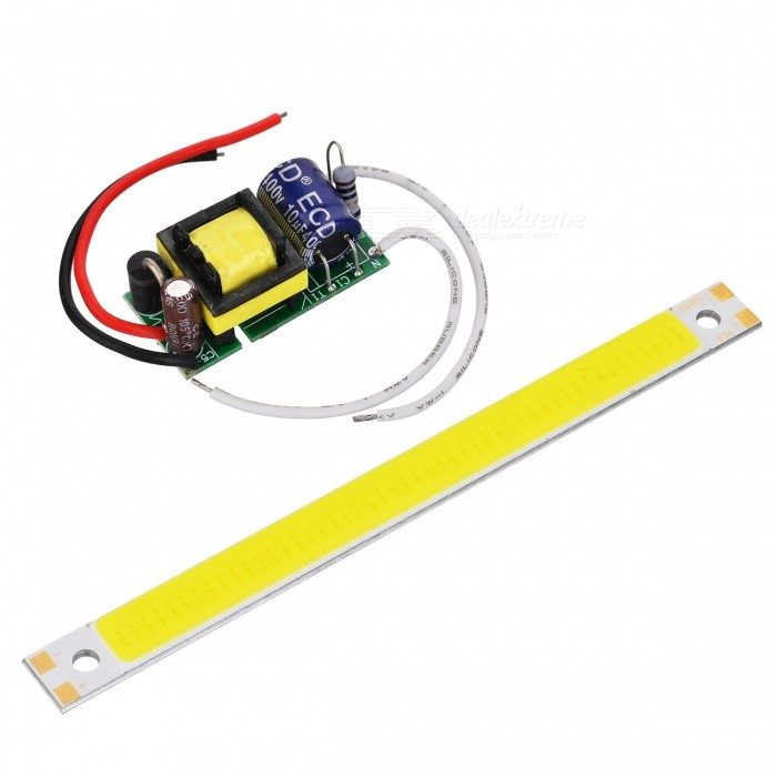 JRLED 10W 48-COB LED Bluish White Light Module w/ Driver (AC 85~277V)